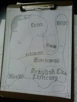 Talora map